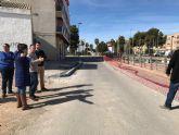 Acondicionamiento de calle Camino de las Gilas, Pintor Sánchez Picazo y tramo de calle Cartagena