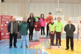 La pareja formada por Lucía Valenzuela y Álvaro Salas, del Colegio La Milagrosa, se proclamaron campeones regionales de Bádminton de Deporte Escolar