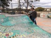 El PSOE reclama la remodelación integral de la pista de skate de Lorca aprovechando las obras de Santa Clara