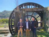 La Comunidad reafirma su compromiso para rehabilitar la Ruta de las Norias de Abarán