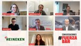 HEINEKEN España une a la hostelería para trasladar un mensaje de apoyo al sector