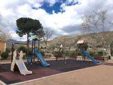 Desmantelan el parque infantil de Nueva Espuña