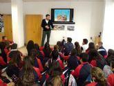 Medio Ambiente lleva a los escolares a conocer la Estación depuradora y el Centro Tecnológico de El Mirador para que conozcan más sobre la gestión del agua