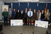 La Base Aérea de Alcantarilla dona 10.000 euros solidarios para dos asociaciones de nuestro municipio, recaudados  de la III Carrera Popular que el Ejército del Aire celebró el pasado 21 de febrero