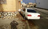 Agentes de la Policía Local de Totana recuperan un vehículo robado