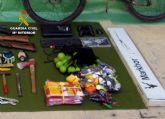 La Guardia Civil desmantela un grupo delictivo juvenil dedicado a la comisi�n de robos en casas de campo y chalets