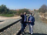 Comunidad, Ayuntamiento y ADIF alcanzan un acuerdo para cubrir el trazado del Corredor Mediterráneo a su paso por Alcantarilla