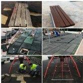 Servicios realiza actuaciones de mejora y mantenimiento en cinco zonas verdes de Cieza