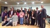 La consejera de Familia destaca el esfuerzo de los familiares de personas con discapacidad para impulsar el movimiento asociativo en la Región