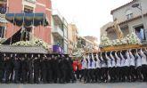 La procesión del Encuentro pone punto y final a la Semana Santa de Puerto Lumbreras