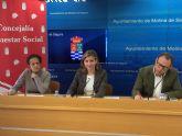 El Ayuntamiento de Molina de Segura y la asociación TEDIS firman un convenio para el mantenimiento de su centro ocupacional