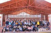 Jóvenes de Francia, Eslovaquia, Italia y Dinamarca visitan Puerto Lumbreras para conocer su cultura