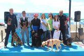 El Día de Perro reconoce la labor de Bostón, guía canino de la Policia Nacional