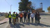 Fomento mejora el firme de la carretera que une las pedanías molinenses de El Rellano y La Hurona