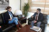 La alcaldesa consigue el compromiso del consejero de buscar financiación para rehabilitar la margen izquierda del Segura