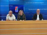 El Ayuntamiento de Molina de Segura y la Federación de Asociaciones de Vecinos Interbarrios firman un convenio de colaboración para el año 2019