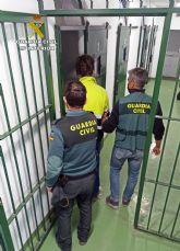 La Guardia Civil detiene a un joven y experimentado delincuente buscado por la justicia