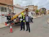 El Ayuntamiento mejora la iluminación del casco histórico de Los Alcázares con la sustitución de 285 luces LED