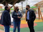 Nuevo Parque Infantil en el Jardín Isabel Sánchez García, Balsicas