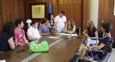 Los alumnos del Aula Abierta de San Pedro del Pinatar, presentan su proyecto fin de curso