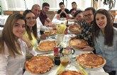 Alumnos del IES «Prado Mayor» de vuelta en Totana tras realizar sus prácticas, en empresas de Italia