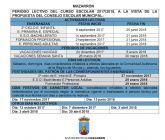 Los colegios de Mazarrón comenzarán el curso el 8 de septiembre y finalizarán el 25 de junio
