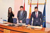 Juan Antonio Mata, nuevo concejal del Partido Popular en Alcantarilla, sustituyendo a Laura Sandoval al pasar al gobierno regional como directora general de Ordenación del Territorio, Arquitectura y Vivienda