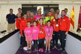 El club 'Bádminton Las Torres', homenajeado por sus 28 medallas en el campeonato regional