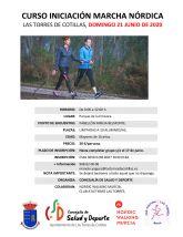 El curso de iniciación a la marcha nórdica de la Concejalía de Salud y Deportes ofrece sus últimas plazas
