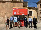 La Cofradía del Amparo inicia una campaña solidaria a beneficio del Economato Galilea de Cáritas en la caseta de Santo Domingo