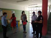 Educación soluciona los problemas de goteras del Colegio Nuestra Señora de la Candelaria de Valladolises y mejora sus estancias con trabajos de pintura