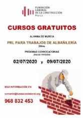 Cursos gratuitos de prevenci�n de riesgos laborales para trabajos de albañiler�a