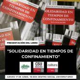 La Universidad de Murcia presenta el libro de microrrelatos ´Solidaridad en tiempos de confinamiento´