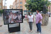Una exposición fotográfica recorre los actos más tradicionales de las fiestas patronales en el centro urbano