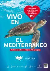 San Pedro del Pinatar se suma a la campaña 'Tortugas en el Mediterráneo' de la Fundación Oceanografic