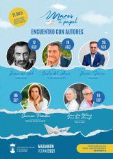 Divulgación científica, literatura y grandes nombres del periodismo y la comunicación en Mares de papel 2021 de Mazarrón