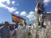 El director general de Puertos participa en los festejos de la Virgen del Carmen en San Pedro del Pinatar