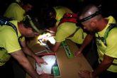 Más de 350 participantes en la tradicional Travesía Nocturna de Montaña lumbrerense