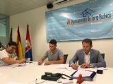 El Ayuntamiento de Torre Pacheco firma convenios de colaboración con varias asociaciones y colectivos del municipio