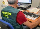 La Guardia Civil detiene a un huido de la justicia con tres órdenes de ingreso en prisión