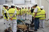 La Fundación Laboral de la Construcción formó el pasado año en Murciaa cerca de 1.200 profesionales del sector