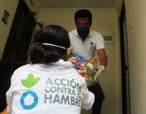 Los equipos de Acción contra el Hambre en América Latina alertan del aumento del número de personas que no pueden alimentarse adecuadamente por la pandemia