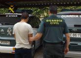 La Guardia Civil detiene al presunto autor de un atraco en Cieza