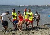 El trabajo conjunto de Policía Local y Protección Civil cierra el verano sin incidentes graves en las playas