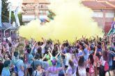 Más de 1.000 personas participan en la Holi Day Party en Alcantarilla