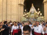 López Miras participa en la procesión en honor a la Virgen de la Consolación, patrona de Molina de Segura