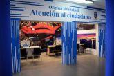 La oficina de atenci�n al ciudadano de Puerto de Mazarr�n abre sus puertas en la plaza de abastos