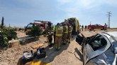 Accidente de tráfico ocurrido en las Torres de Cotillas