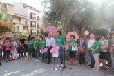 Puerto Lumbreras se une contra el cáncer de mama