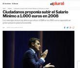 PSOE: 'El PP y Ciudadanos tienen que explicar por qué no quieren subir el salario mínimo a 900€'